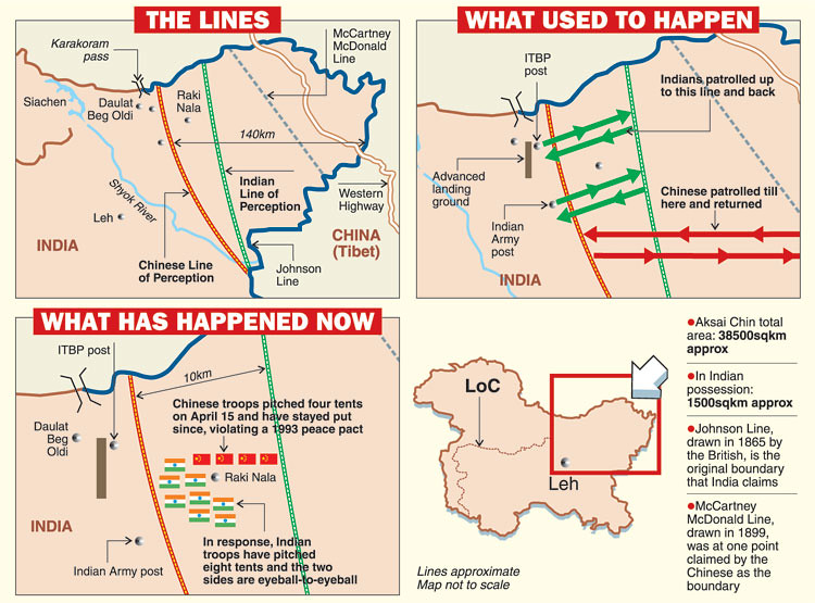 China's India Land Grab - Border Tensions Continue To Escalate