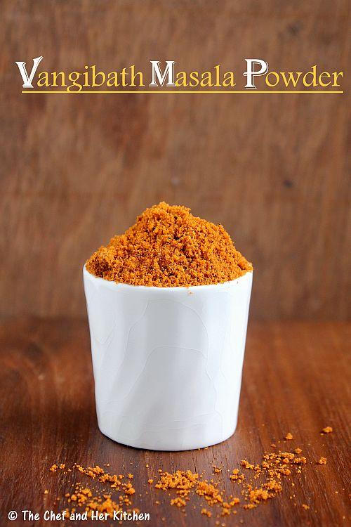 vangibath masala powder