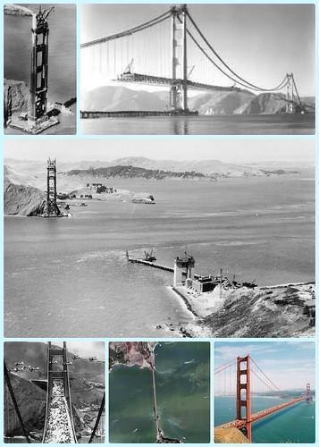 Un día como hoy de Inaugura el Puente Golden Gate en California by Aceros Murillo