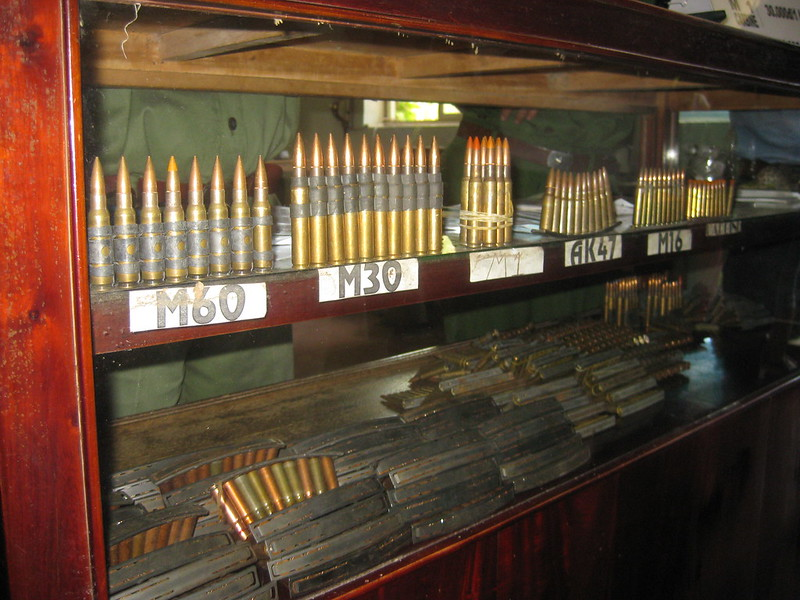tunnels de cu chi munitions