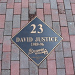 Atlanta - Turner Field: Walk of Fame - David Justice