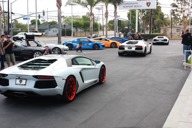 Lamborghini Newport Beach Blog June 2013 Supercar Show At