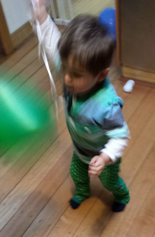 Eskil and his balloon
