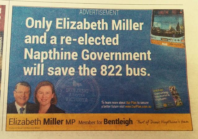 822 bus ad