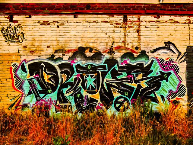 Grass and Graffiti