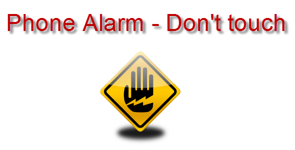 CodeCanyon Phone Alarm – Don't touch