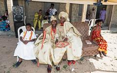 At Traditional Nigerian Wedding