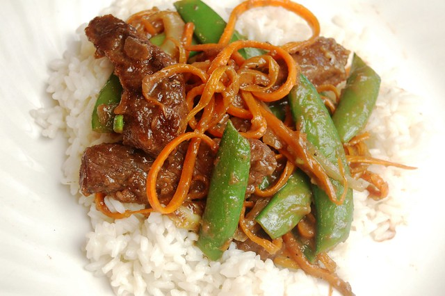 a simple real food recipe :: chinese beef teriyaki