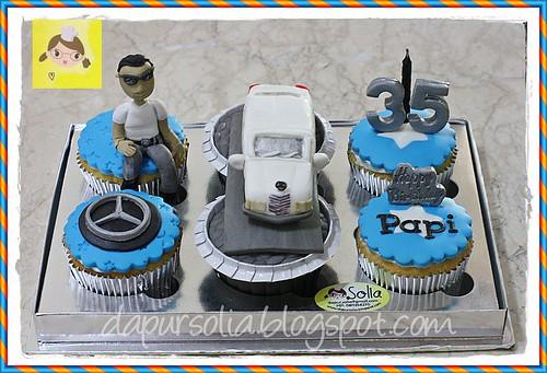Cupcake Mobil Mewah