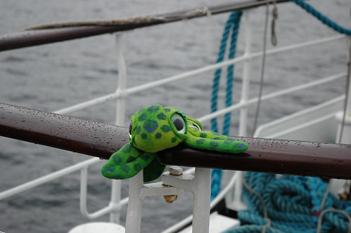 You find all sorts sailing on the Sir Walter Scott on Loch Katrine.
