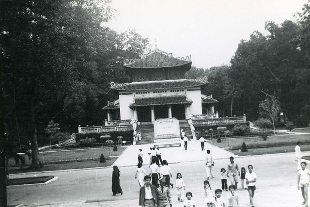 1962 Temple of Souvenir in Saigon Botanical Garden