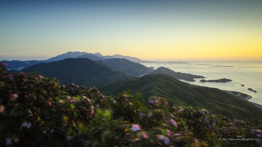 Sunset at Home   Lantau Island