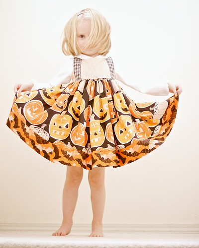 Spooktacular Halloween Twirl Dress