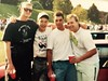 #tbt the family at #holycross tailgate. Back in the day! #college #worcester #massachusetts