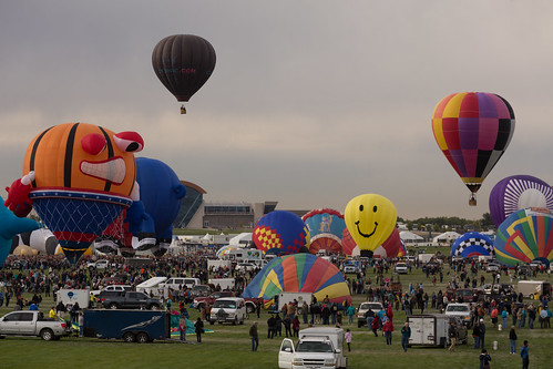 The Albuquerque International Balloon Fiesta 2014