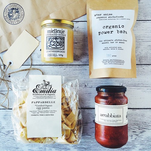Loving the curated selection offered by @myomeio. It's like browsing market stalls of some of the best small producers - but delivered. Thanks for the sampler Niko! #foodfind