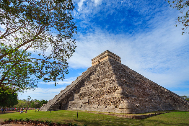 Maya Temple Chichen Itza