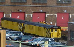 NYCT R21/R22 revenue cars 7422 (1R714) and 7194 (0R714)