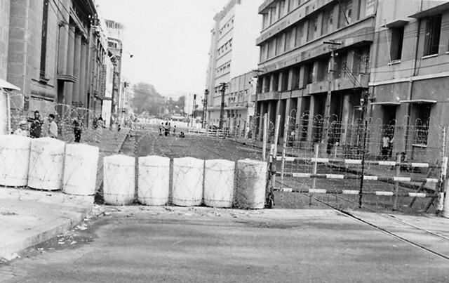 SAIGON 1965 - Đầu đường Võ Di Nguy, Tòa ĐS Mỹ góc Hàm Nghi-Võ Di Nguy