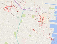 Sep 2014 - Sep 2016 Google Location History (Jersey City)