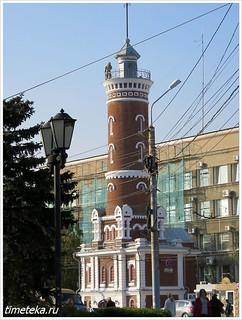 Пожарная каланча. Омск