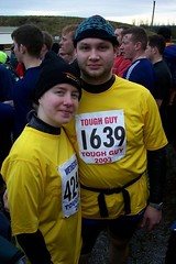 Pre-Race Photo of Claire & Simon Image