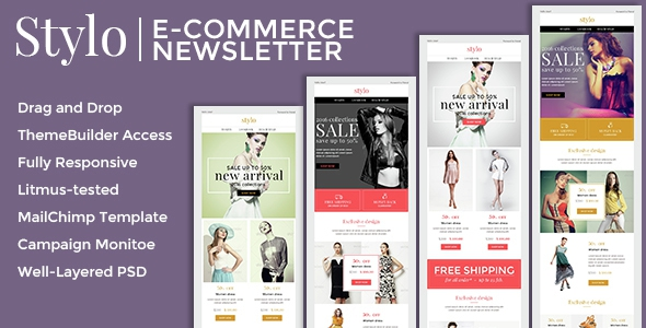 Stylo v1.0.0 - Ecommerce Newsletter + Builder Access