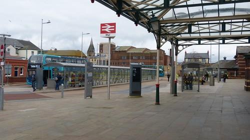 Rhyl Bus Station 3 on 'Dennis Basford's railsroadsrunways.blogspot.co.uk'