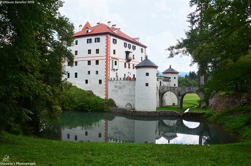 slovenia slovenja castle castello lake lago nikon nikond5100 travel