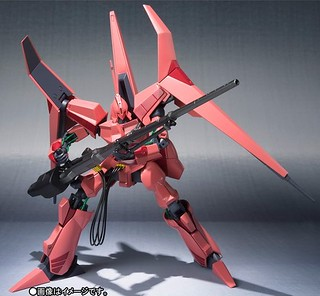 ROBOT魂 《重戰機》紅色機體的「NOVEL D-SSERD」 ヌーベル・ディザード