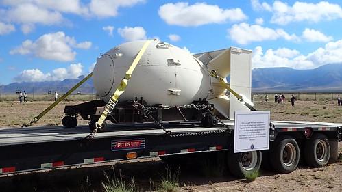 TrinitySiteNHL- Fat Man Plutonium Bomb Casing