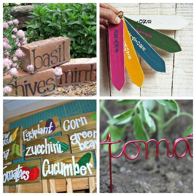 plant marker ideas