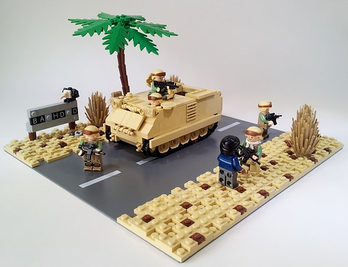 LEGO military models