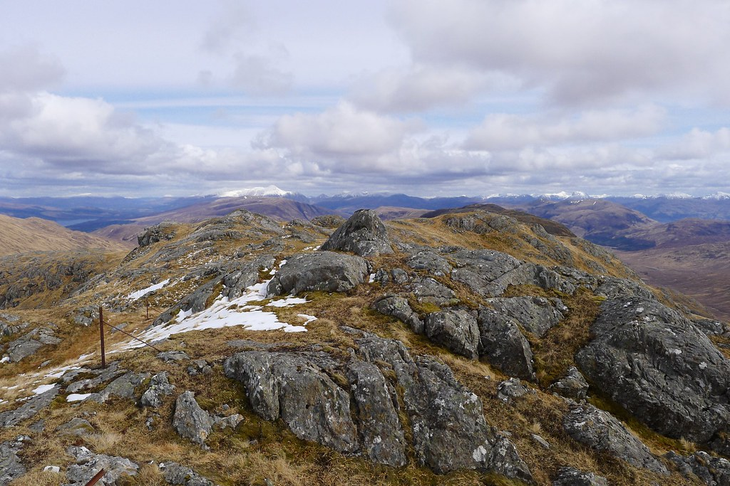 Summit of Meall Mòr