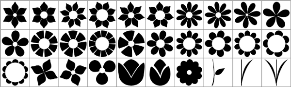 Flower-Shapes