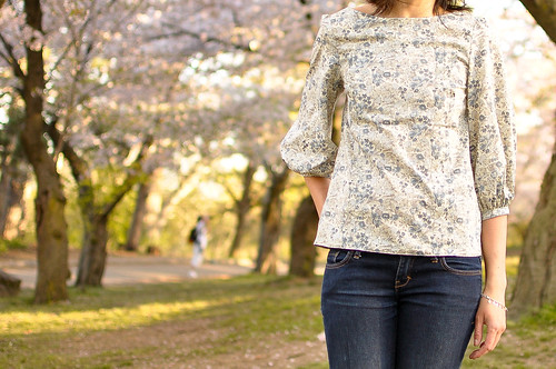 Mathilde Blouse in Liberty