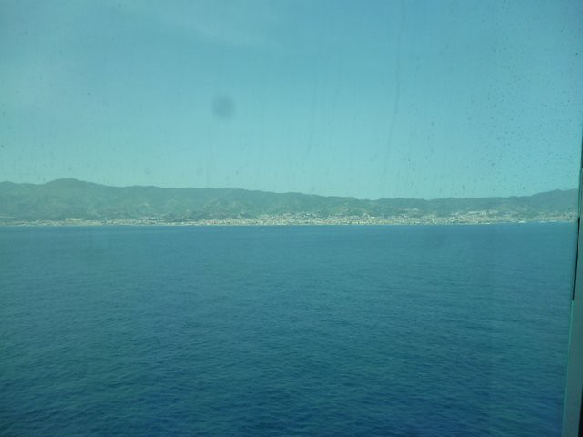 View of Sicily from the sea