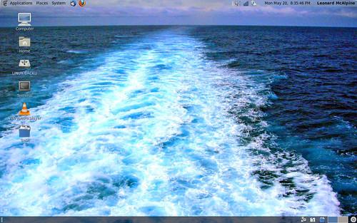 CentOS 6 Desktop by Old Jingleballicks