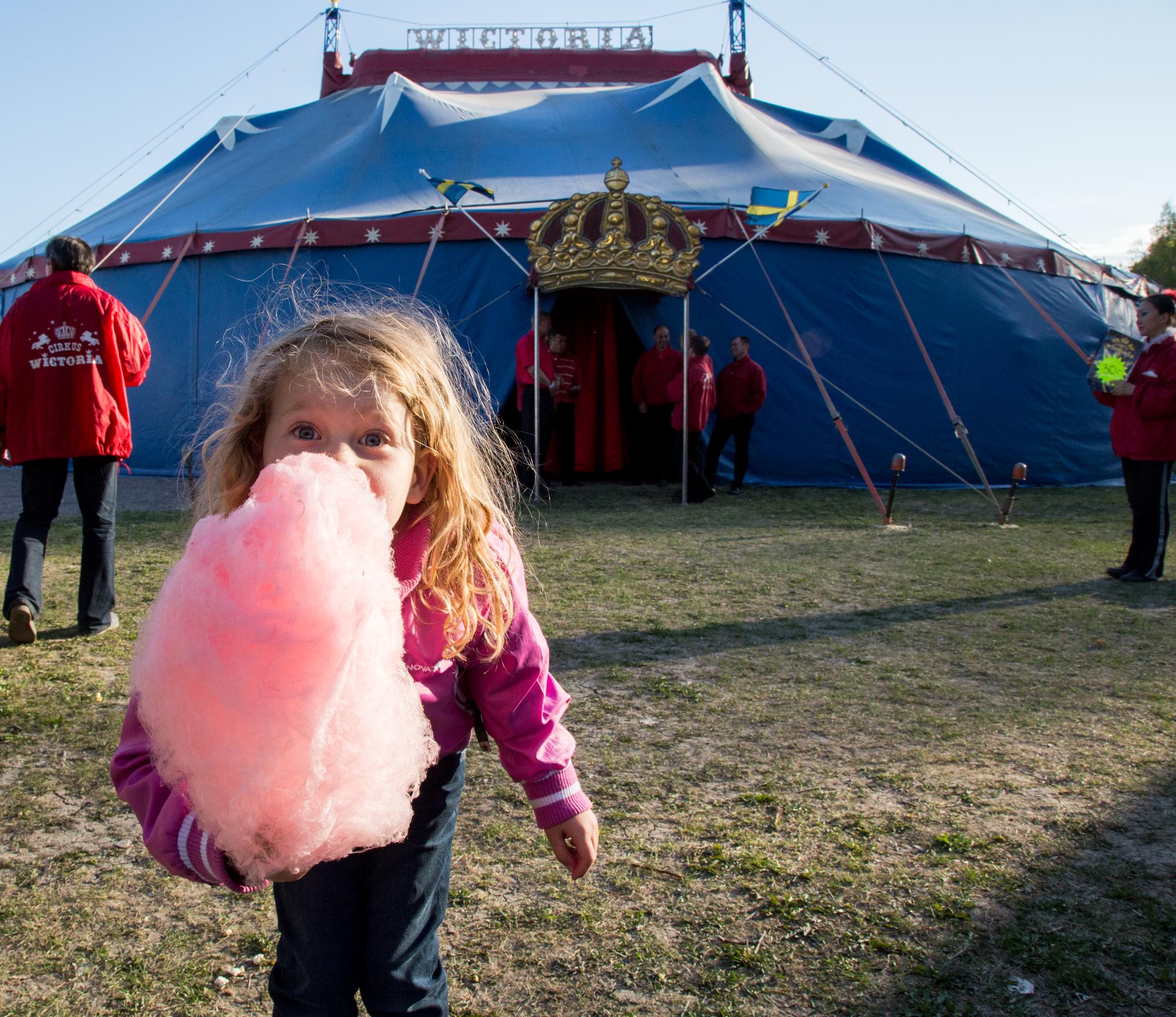 Circus with Stina