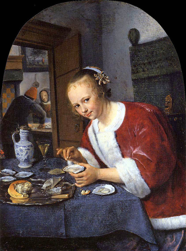 Jan Steen (ok. 1626 – 1679) Jedząca ostrygi