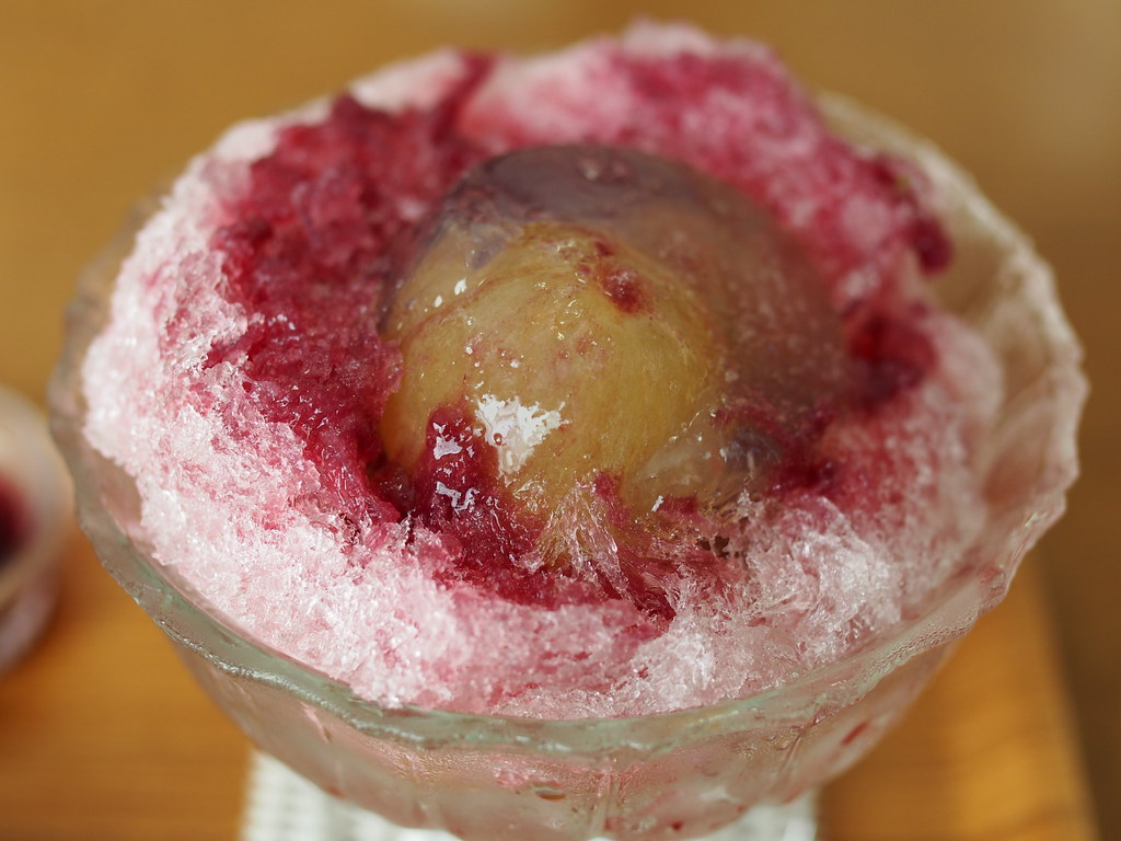 Japanese Ice Shaved Dessert - Double Grape