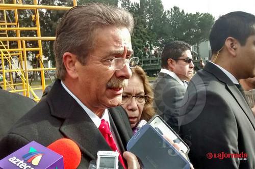 El gobernador de San Luis Potosí