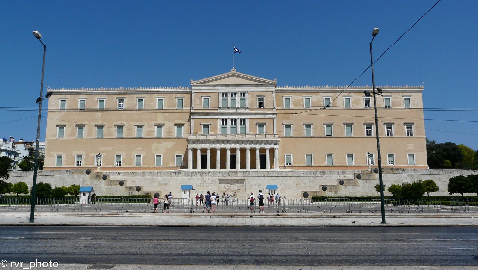 Vouli ton Ellinon - Plaza Syntagma, Atenas