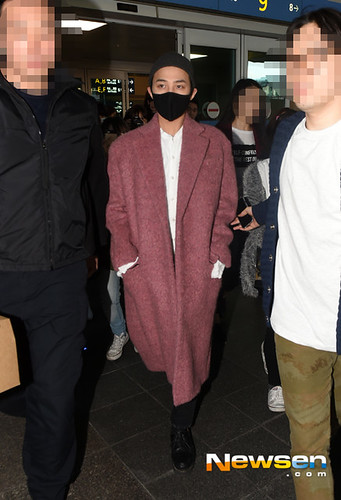 Big Bang - Incheon Airport - 22mar2015 - G-Dragon - Newsen - 01