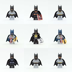 Who love custom batman minifigs!