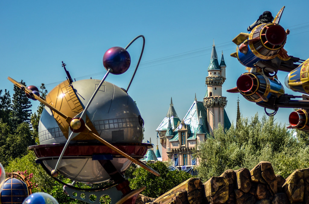 Astro Orbiter castle