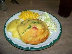"Late lunch at  "" Chicken Pie Shop "" sinc…"
