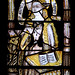 "Alveley, Shropshire, ""St. Mary the virgin"", east clerestory, stained glass, annunciation"
