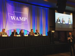 Amazing panel discussion at the @WAMP conference !  #JohnGStevens