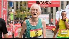 Fenomén! Ed Whitlock v 85 letech zaběhl maraton pod 4 hodiny